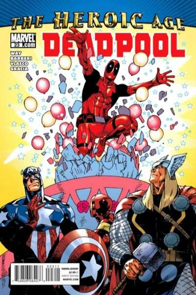 Deadpool #23 Comic Books - Covers, Scans, Photos  in Deadpool Comic Books - Covers, Scans, Gallery