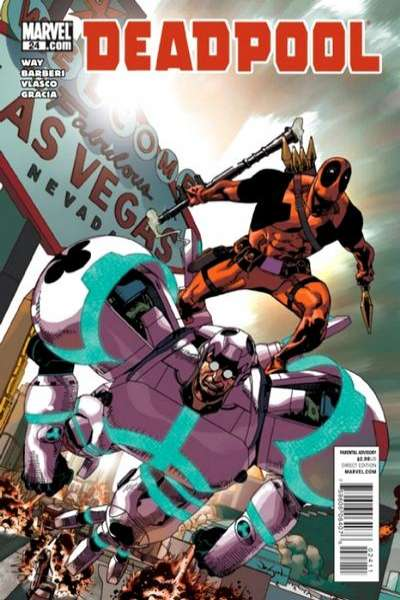 Deadpool #24 Comic Books - Covers, Scans, Photos  in Deadpool Comic Books - Covers, Scans, Gallery