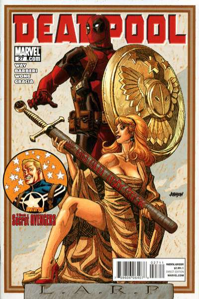 Deadpool #27 Comic Books - Covers, Scans, Photos  in Deadpool Comic Books - Covers, Scans, Gallery