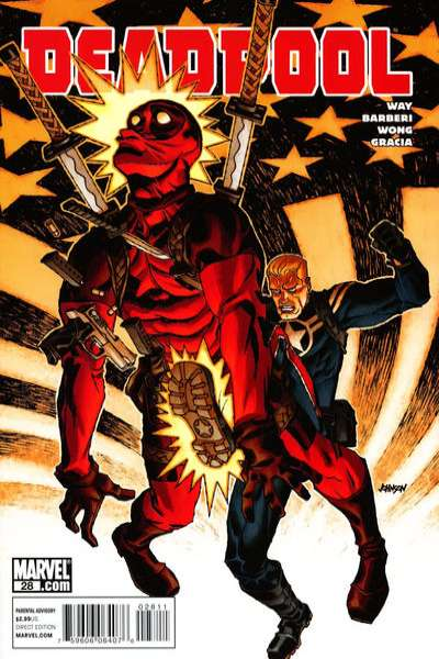 Deadpool #28 Comic Books - Covers, Scans, Photos  in Deadpool Comic Books - Covers, Scans, Gallery