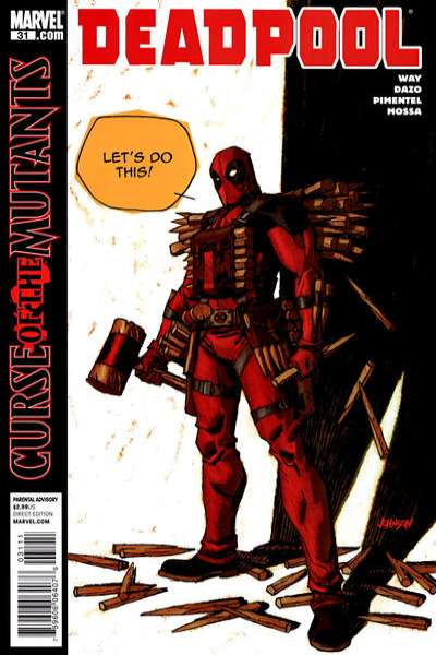 Deadpool #31 Comic Books - Covers, Scans, Photos  in Deadpool Comic Books - Covers, Scans, Gallery
