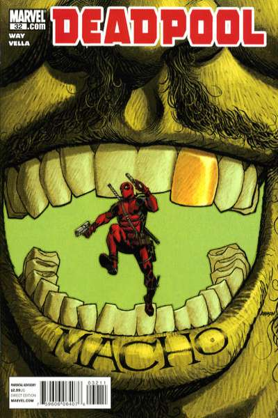 Deadpool #32 Comic Books - Covers, Scans, Photos  in Deadpool Comic Books - Covers, Scans, Gallery