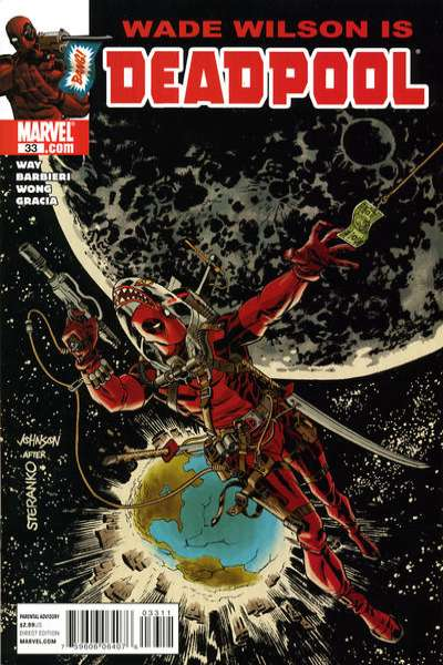Deadpool #33 Comic Books - Covers, Scans, Photos  in Deadpool Comic Books - Covers, Scans, Gallery