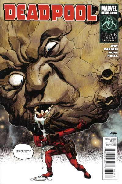 Deadpool #34 Comic Books - Covers, Scans, Photos  in Deadpool Comic Books - Covers, Scans, Gallery