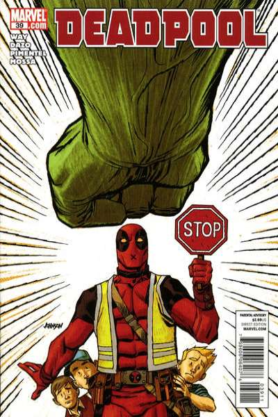 Deadpool #39 Comic Books - Covers, Scans, Photos  in Deadpool Comic Books - Covers, Scans, Gallery
