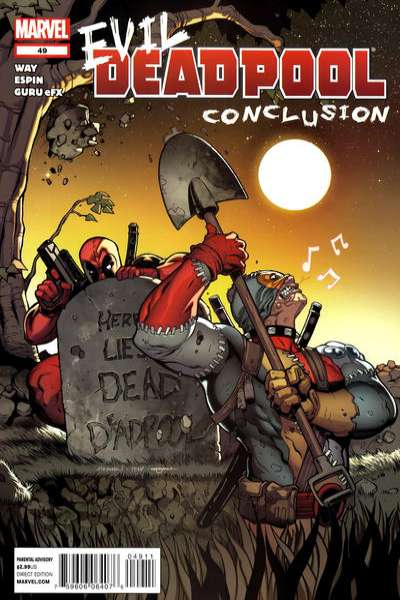 Deadpool #49 Comic Books - Covers, Scans, Photos  in Deadpool Comic Books - Covers, Scans, Gallery