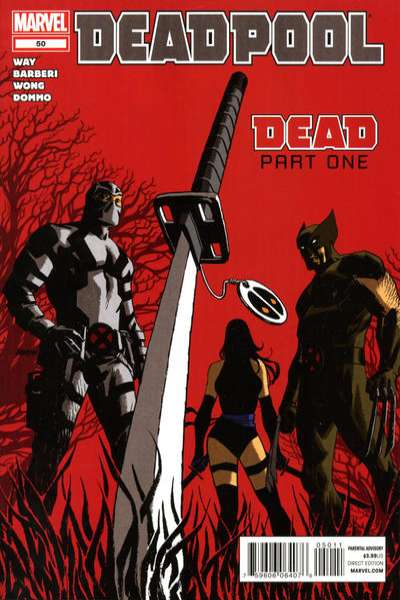 Deadpool #50 Comic Books - Covers, Scans, Photos  in Deadpool Comic Books - Covers, Scans, Gallery