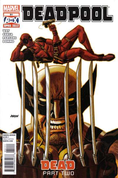 Deadpool #51 Comic Books - Covers, Scans, Photos  in Deadpool Comic Books - Covers, Scans, Gallery
