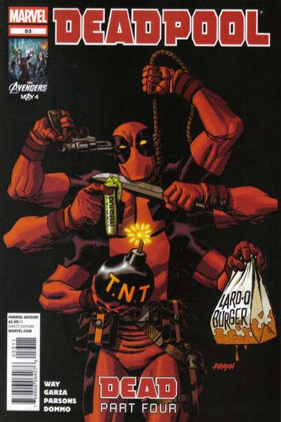 Deadpool #53 Comic Books - Covers, Scans, Photos  in Deadpool Comic Books - Covers, Scans, Gallery