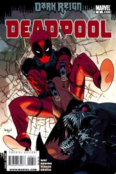 Deadpool #6 Comic Books - Covers, Scans, Photos  in Deadpool Comic Books - Covers, Scans, Gallery