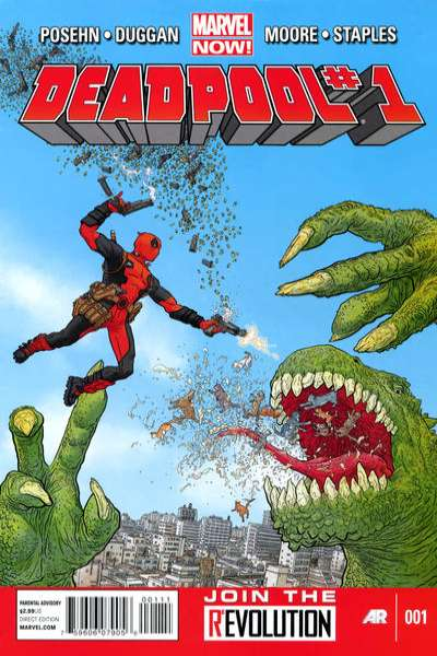 Deadpool #1 Comic Books - Covers, Scans, Photos  in Deadpool Comic Books - Covers, Scans, Gallery