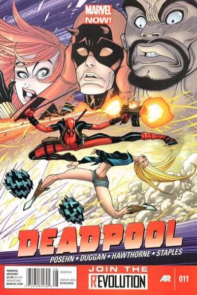 Deadpool #11 comic books - cover scans photos Deadpool #11 comic books - covers, picture gallery