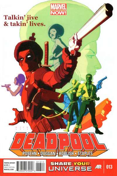 Deadpool #13 comic books - cover scans photos Deadpool #13 comic books - covers, picture gallery