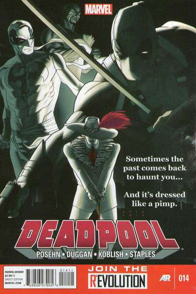 Deadpool #14 Comic Books - Covers, Scans, Photos  in Deadpool Comic Books - Covers, Scans, Gallery