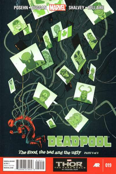 Deadpool #19 comic books for sale