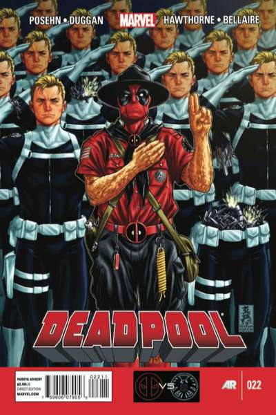 Deadpool #22 Comic Books - Covers, Scans, Photos  in Deadpool Comic Books - Covers, Scans, Gallery