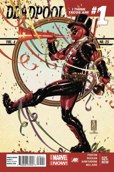Deadpool #25 Comic Books - Covers, Scans, Photos  in Deadpool Comic Books - Covers, Scans, Gallery