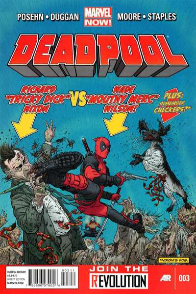 Deadpool #3 Comic Books - Covers, Scans, Photos  in Deadpool Comic Books - Covers, Scans, Gallery
