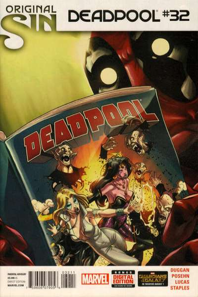 Deadpool #32 comic books for sale