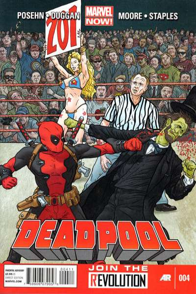 Deadpool #4 Comic Books - Covers, Scans, Photos  in Deadpool Comic Books - Covers, Scans, Gallery