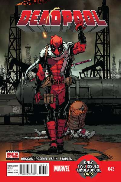 Deadpool #43 comic books for sale