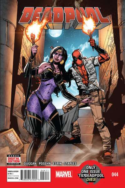 Deadpool #44 comic books for sale