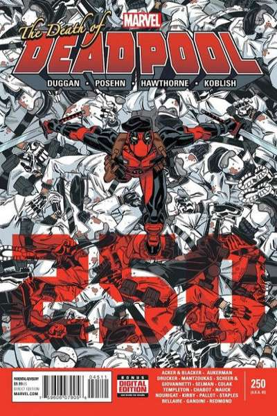 Deadpool #45 comic books for sale