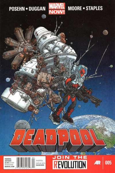 Deadpool #5 Comic Books - Covers, Scans, Photos  in Deadpool Comic Books - Covers, Scans, Gallery
