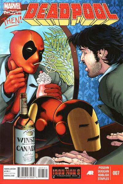 Deadpool #7 Comic Books - Covers, Scans, Photos  in Deadpool Comic Books - Covers, Scans, Gallery