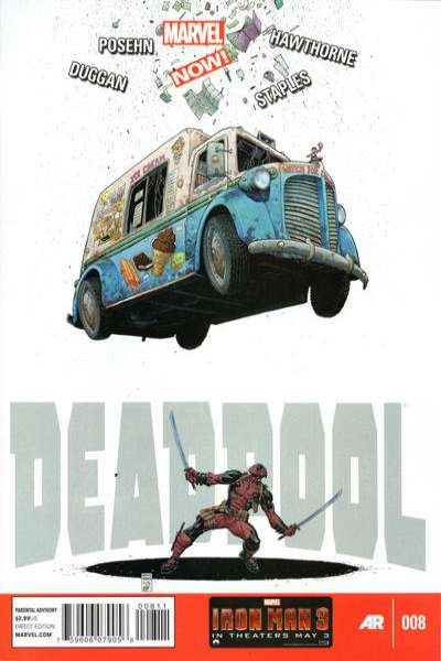 Deadpool #8 Comic Books - Covers, Scans, Photos  in Deadpool Comic Books - Covers, Scans, Gallery