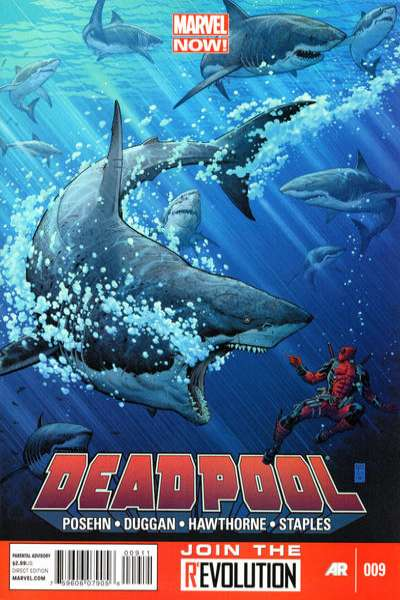 Deadpool #9 comic books - cover scans photos Deadpool #9 comic books - covers, picture gallery