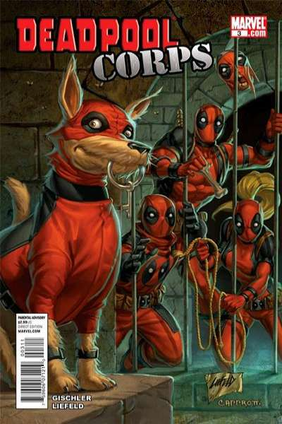 Deadpool Corps #3 Comic Books - Covers, Scans, Photos  in Deadpool Corps Comic Books - Covers, Scans, Gallery