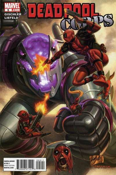 Deadpool Corps #5 Comic Books - Covers, Scans, Photos  in Deadpool Corps Comic Books - Covers, Scans, Gallery