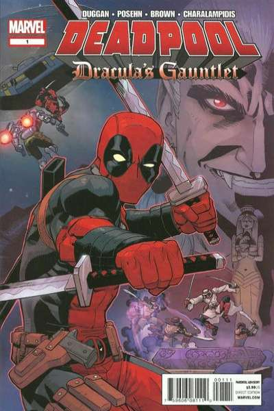 Deadpool: Dracula's Gauntlet Comic Books. Deadpool: Dracula's Gauntlet Comics.