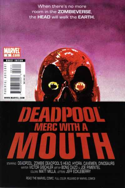 Deadpool: Merc with a Mouth #3 comic books for sale