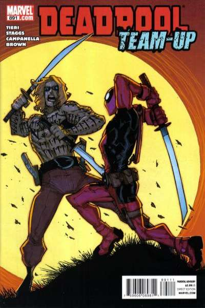 Deadpool Team-Up #891 Comic Books - Covers, Scans, Photos  in Deadpool Team-Up Comic Books - Covers, Scans, Gallery