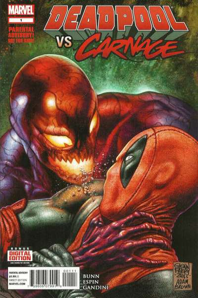 Deadpool vs. Carnage Comic Books. Deadpool vs. Carnage Comics.