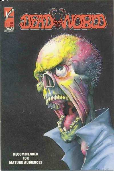 Deadworld #1 Comic Books - Covers, Scans, Photos  in Deadworld Comic Books - Covers, Scans, Gallery