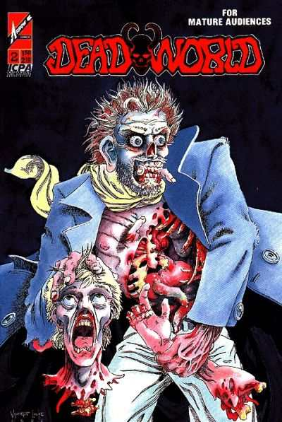 Deadworld #2 Comic Books - Covers, Scans, Photos  in Deadworld Comic Books - Covers, Scans, Gallery