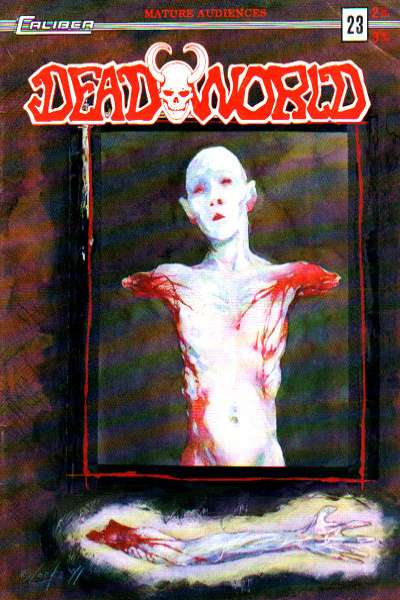 Deadworld #23 Comic Books - Covers, Scans, Photos  in Deadworld Comic Books - Covers, Scans, Gallery
