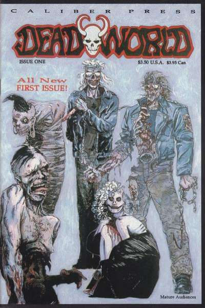 Deadworld comic books