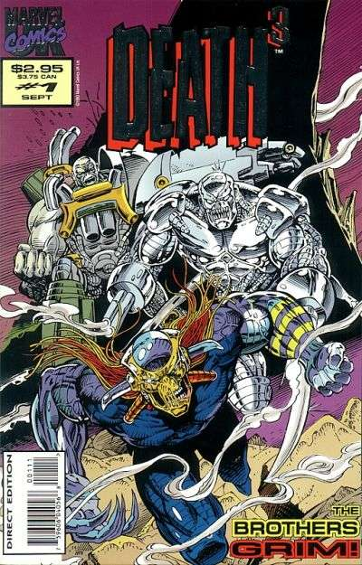 Death 3 comic books