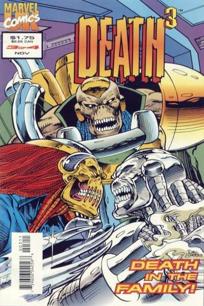 Death 3 #3 Comic Books - Covers, Scans, Photos  in Death 3 Comic Books - Covers, Scans, Gallery