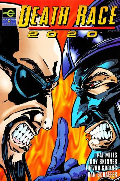 Death Race 2020 #4 comic books for sale