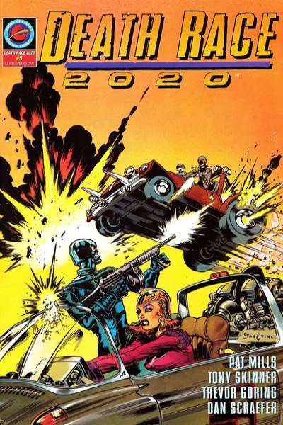 Death Race 2020 #5 comic books for sale