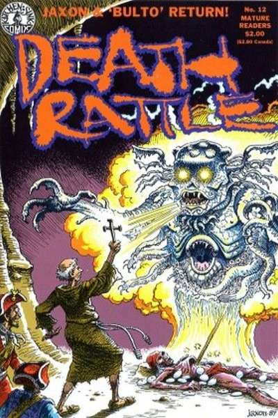 Death Rattle #12 Comic Books - Covers, Scans, Photos  in Death Rattle Comic Books - Covers, Scans, Gallery