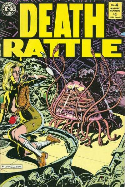 Death Rattle #4 Comic Books - Covers, Scans, Photos  in Death Rattle Comic Books - Covers, Scans, Gallery