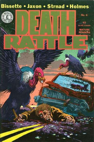 Death Rattle #6 Comic Books - Covers, Scans, Photos  in Death Rattle Comic Books - Covers, Scans, Gallery