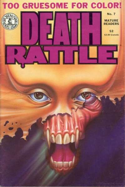 Death Rattle #7 Comic Books - Covers, Scans, Photos  in Death Rattle Comic Books - Covers, Scans, Gallery