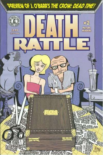 Death Rattle #2 Comic Books - Covers, Scans, Photos  in Death Rattle Comic Books - Covers, Scans, Gallery